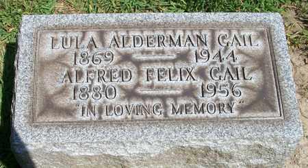 GAIL, ALFRED FELIX - Trumbull County, Ohio   ALFRED FELIX GAIL - Ohio Gravestone Photos