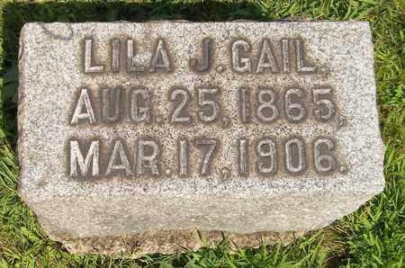 GAIL, LILA J. - Trumbull County, Ohio | LILA J. GAIL - Ohio Gravestone Photos