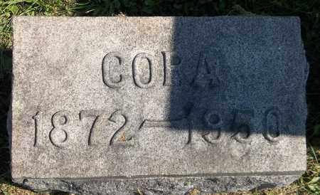 GARDINER, CORA - Trumbull County, Ohio   CORA GARDINER - Ohio Gravestone Photos