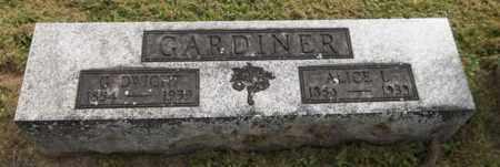 GARDINER, G. DWIGHT - Trumbull County, Ohio | G. DWIGHT GARDINER - Ohio Gravestone Photos