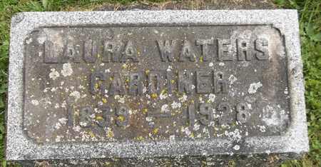 WATERS GARDINER, LAURA - Trumbull County, Ohio | LAURA WATERS GARDINER - Ohio Gravestone Photos