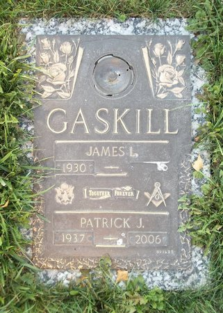 GASKILL, PATRICK J. - Trumbull County, Ohio | PATRICK J. GASKILL - Ohio Gravestone Photos