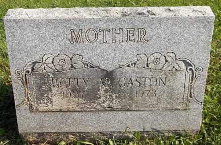GASTON, BETTY M. - Trumbull County, Ohio | BETTY M. GASTON - Ohio Gravestone Photos