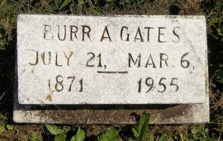 GATES, BURR A. - Trumbull County, Ohio | BURR A. GATES - Ohio Gravestone Photos