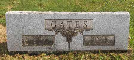 GATES, MINNIE - Trumbull County, Ohio | MINNIE GATES - Ohio Gravestone Photos