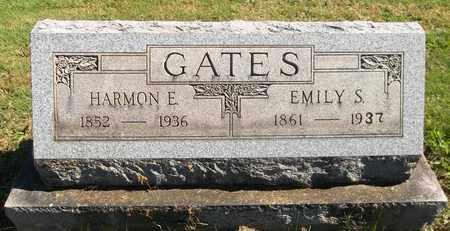 GATES, HARMON E. - Trumbull County, Ohio   HARMON E. GATES - Ohio Gravestone Photos