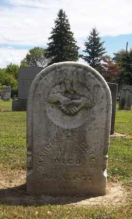 GATES, MARCUS R. - Trumbull County, Ohio | MARCUS R. GATES - Ohio Gravestone Photos