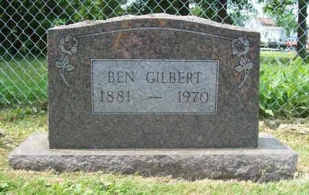 GILBERT, BEN - Trumbull County, Ohio   BEN GILBERT - Ohio Gravestone Photos