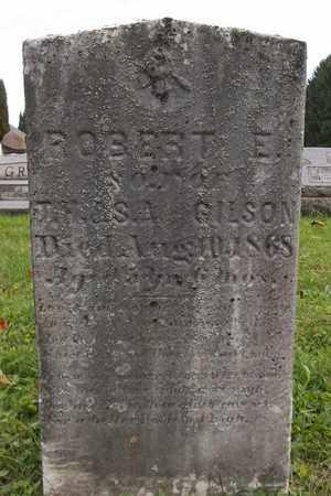 GILSON, ROBERT E. - Trumbull County, Ohio | ROBERT E. GILSON - Ohio Gravestone Photos