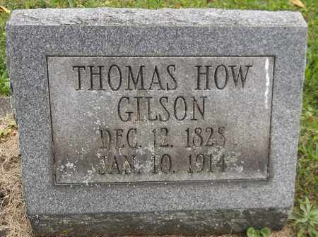 GILSON, THOMAS HOW - Trumbull County, Ohio   THOMAS HOW GILSON - Ohio Gravestone Photos
