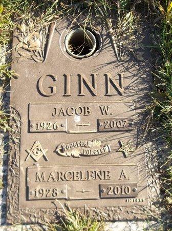 GINN, JACOB W. - Trumbull County, Ohio | JACOB W. GINN - Ohio Gravestone Photos