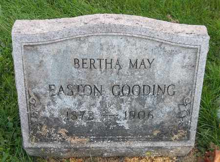 EASTON GOODING, BERTHA MAY - Trumbull County, Ohio | BERTHA MAY EASTON GOODING - Ohio Gravestone Photos
