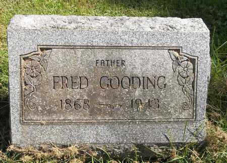 GOODING, FRED - Trumbull County, Ohio | FRED GOODING - Ohio Gravestone Photos