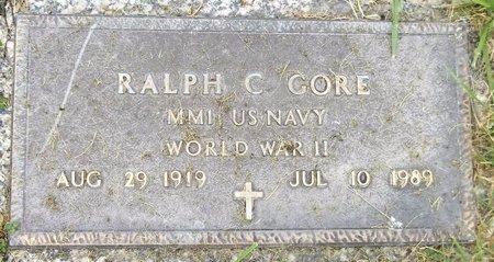GORE, RALPH C. - Trumbull County, Ohio | RALPH C. GORE - Ohio Gravestone Photos