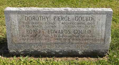 PIERCE GOULD, DOROTHY - Trumbull County, Ohio | DOROTHY PIERCE GOULD - Ohio Gravestone Photos