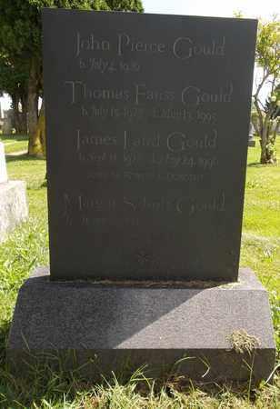 GOULD, THOMAS FAUSS - Trumbull County, Ohio | THOMAS FAUSS GOULD - Ohio Gravestone Photos