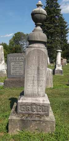 GREEN, COMFORT - Trumbull County, Ohio   COMFORT GREEN - Ohio Gravestone Photos
