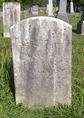 GREEN, REBECCA - Trumbull County, Ohio   REBECCA GREEN - Ohio Gravestone Photos
