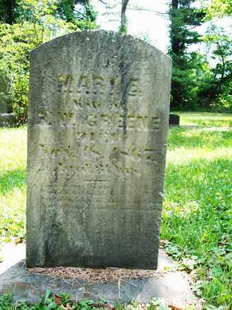 HATCH GREENE, MARY E. - Trumbull County, Ohio | MARY E. HATCH GREENE - Ohio Gravestone Photos