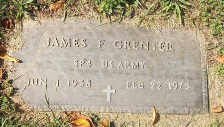GRENTER, JAMES F. - Trumbull County, Ohio   JAMES F. GRENTER - Ohio Gravestone Photos