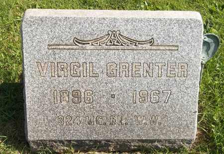 GRENTER, VIRGIL - Trumbull County, Ohio | VIRGIL GRENTER - Ohio Gravestone Photos