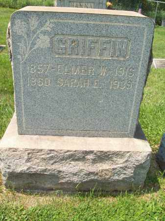 GRIFFIN, ELMER WOODFORD - Trumbull County, Ohio | ELMER WOODFORD GRIFFIN - Ohio Gravestone Photos