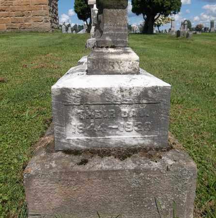 GRIFFIN, MARY J. - Trumbull County, Ohio | MARY J. GRIFFIN - Ohio Gravestone Photos