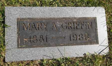 GRIFFIN, MARY A. - Trumbull County, Ohio   MARY A. GRIFFIN - Ohio Gravestone Photos