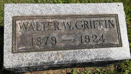 GRIFFIN, WALTER W. - Trumbull County, Ohio | WALTER W. GRIFFIN - Ohio Gravestone Photos