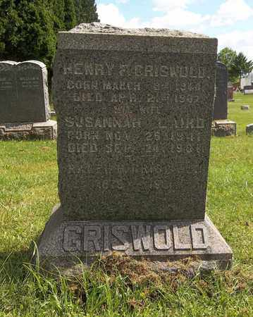 GRISWOLD, RALPH H. - Trumbull County, Ohio | RALPH H. GRISWOLD - Ohio Gravestone Photos