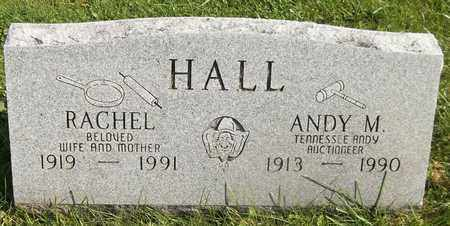 HALL, ANDY M. - Trumbull County, Ohio | ANDY M. HALL - Ohio Gravestone Photos