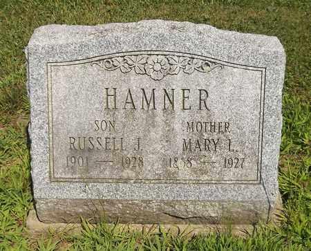 HAMNER, RUSSELL JAMES - Trumbull County, Ohio | RUSSELL JAMES HAMNER - Ohio Gravestone Photos