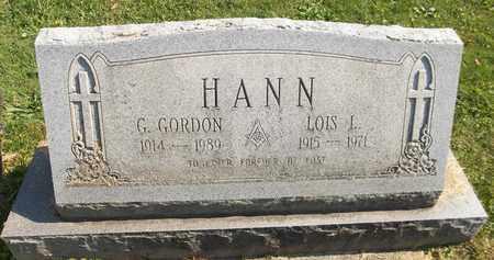 HANN, G. GORDON - Trumbull County, Ohio | G. GORDON HANN - Ohio Gravestone Photos