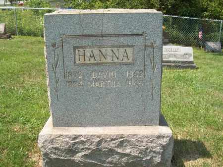 HANNA, DAVID H. - Trumbull County, Ohio   DAVID H. HANNA - Ohio Gravestone Photos