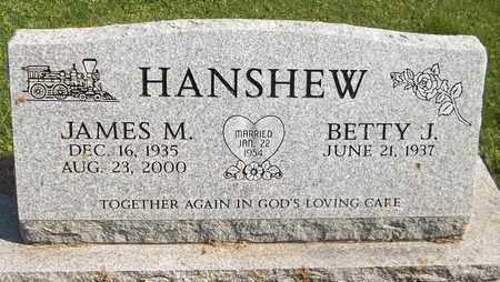 HANSHEW, JAMES M. - Trumbull County, Ohio | JAMES M. HANSHEW - Ohio Gravestone Photos