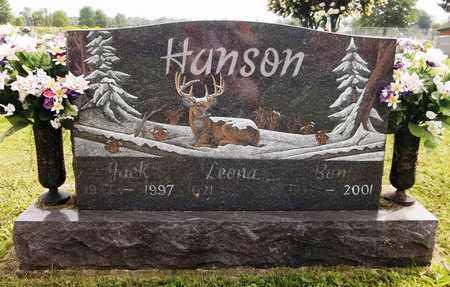 HANSON, JACK - Trumbull County, Ohio   JACK HANSON - Ohio Gravestone Photos