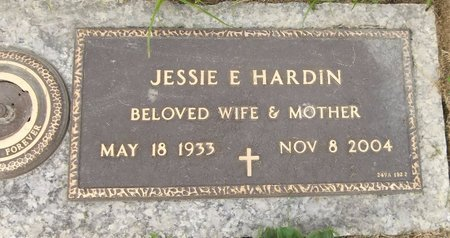 HARDIN, JESSIE E. - Trumbull County, Ohio   JESSIE E. HARDIN - Ohio Gravestone Photos