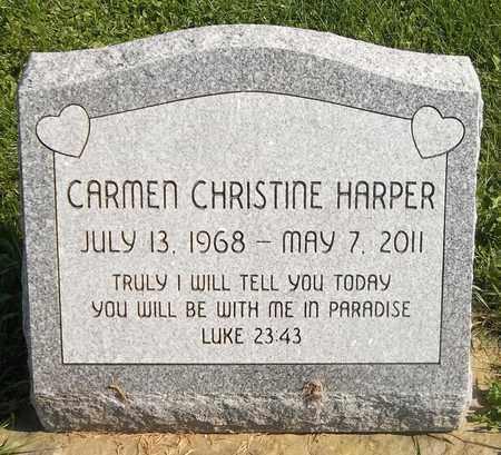 HARPER, CARMEN CHRISTINE - Trumbull County, Ohio | CARMEN CHRISTINE HARPER - Ohio Gravestone Photos