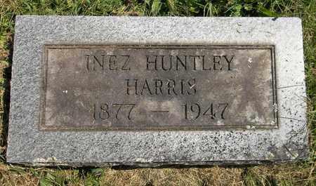 HUNTLEY HARRIS, INEZ - Trumbull County, Ohio | INEZ HUNTLEY HARRIS - Ohio Gravestone Photos
