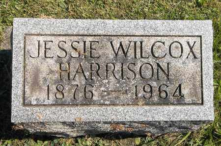 WILCOX HARRISON, JESSIE - Trumbull County, Ohio   JESSIE WILCOX HARRISON - Ohio Gravestone Photos