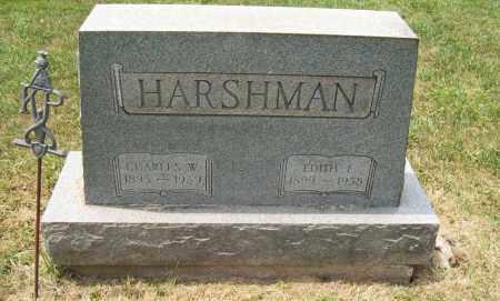 CHAFFEE HARSHMAN, EDITH E. - Trumbull County, Ohio | EDITH E. CHAFFEE HARSHMAN - Ohio Gravestone Photos