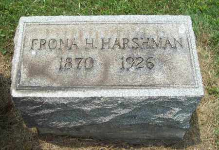 HARSHMAN, FRONA HUMPHREY - Trumbull County, Ohio | FRONA HUMPHREY HARSHMAN - Ohio Gravestone Photos