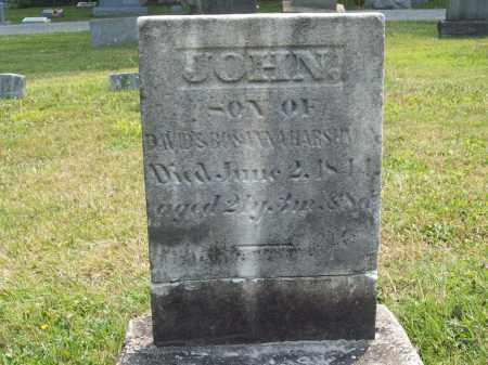 HARSHMAN, JOHN - Trumbull County, Ohio | JOHN HARSHMAN - Ohio Gravestone Photos