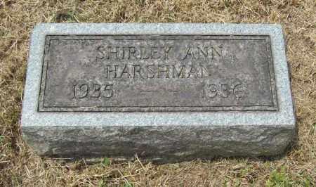 HARSHMAN, SHIRLEY ANN - Trumbull County, Ohio | SHIRLEY ANN HARSHMAN - Ohio Gravestone Photos