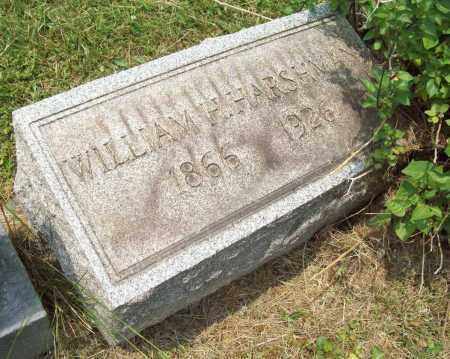 HARSHMAN, WILLIAM HENRY - Trumbull County, Ohio | WILLIAM HENRY HARSHMAN - Ohio Gravestone Photos