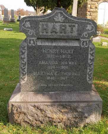 HART, MARTHA E. - Trumbull County, Ohio | MARTHA E. HART - Ohio Gravestone Photos