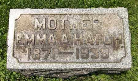HOFFMAN HATCH, EMMA AMELIA - Trumbull County, Ohio   EMMA AMELIA HOFFMAN HATCH - Ohio Gravestone Photos
