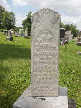 HATCH, ARCHY D. - Trumbull County, Ohio | ARCHY D. HATCH - Ohio Gravestone Photos