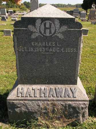 HATHAWAY, CHARLES L. - Trumbull County, Ohio | CHARLES L. HATHAWAY - Ohio Gravestone Photos