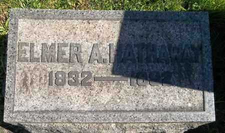 HATHAWAY, ELMER A. - Trumbull County, Ohio   ELMER A. HATHAWAY - Ohio Gravestone Photos